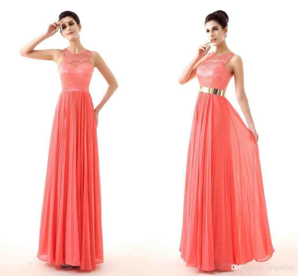 abe0fe41189f8 Coral And Gold Bridesmaid Dresses | gold bridesmaid dresses | Gold ...