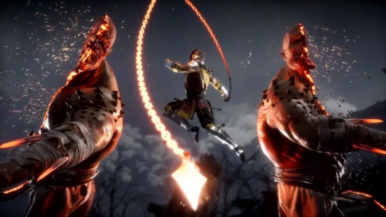 Mortal Kombat 11 - Scorpion's Fatalities | G7 GAMES