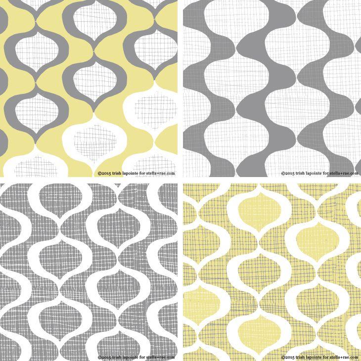 Stella and Rae surface pattern design  Organic http://stellaandrae.com/