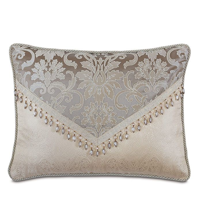 Eastern Accents Leblanc Standard Sham In 2021 Luxury Pillows Decorative Burlap Pillows Sewing Pillows