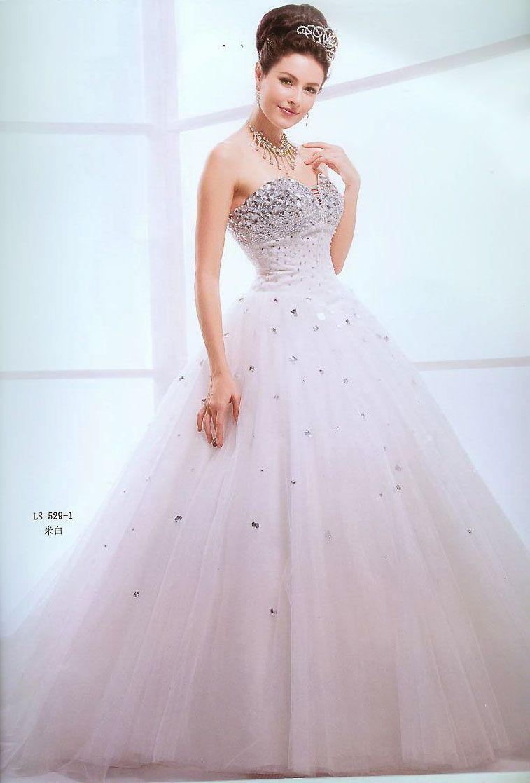 Princess Style Debutante Gown ~ elegant | Quinceanera Traditions/15 ...