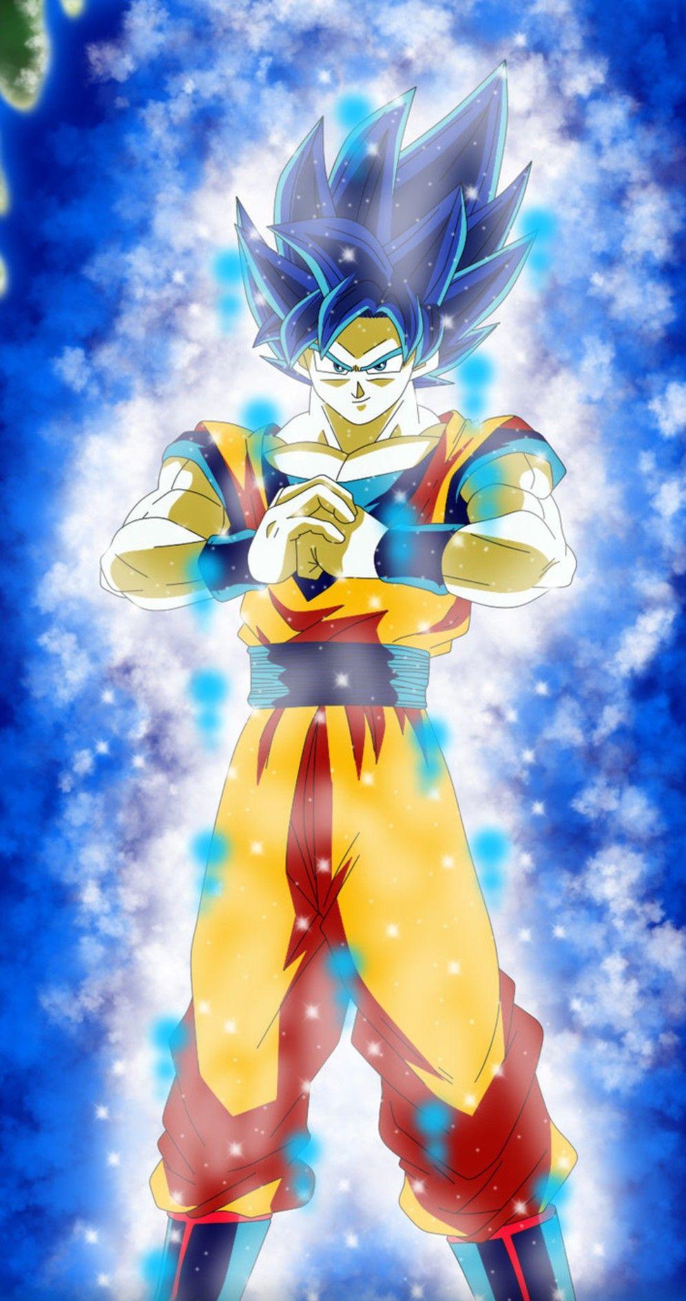 Goku super saiyan god evolution dragon ball super anime - Foto goku super saiyan god ...