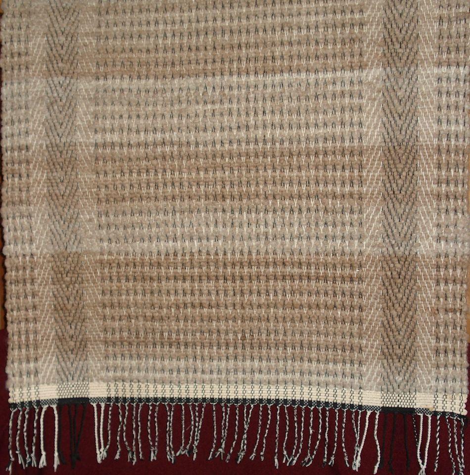 Rug Made With Alpaca Cotton Core Yarn