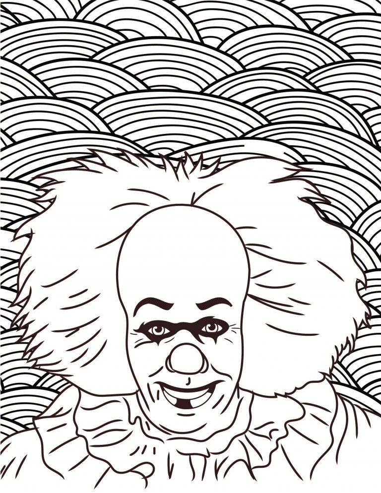 - Horror Movies Printable Coloring Pages Halloween Coloring Pages,  Halloween Coloring, Coloring Pages