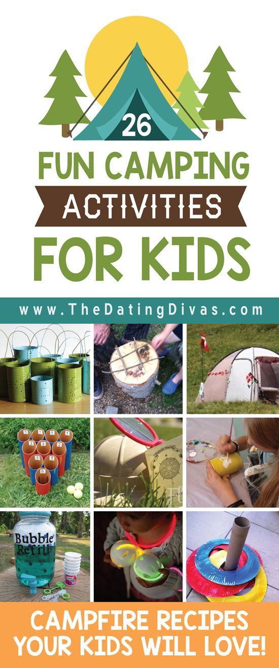 Camping Activities For Kids With Images Camping Crafts Family