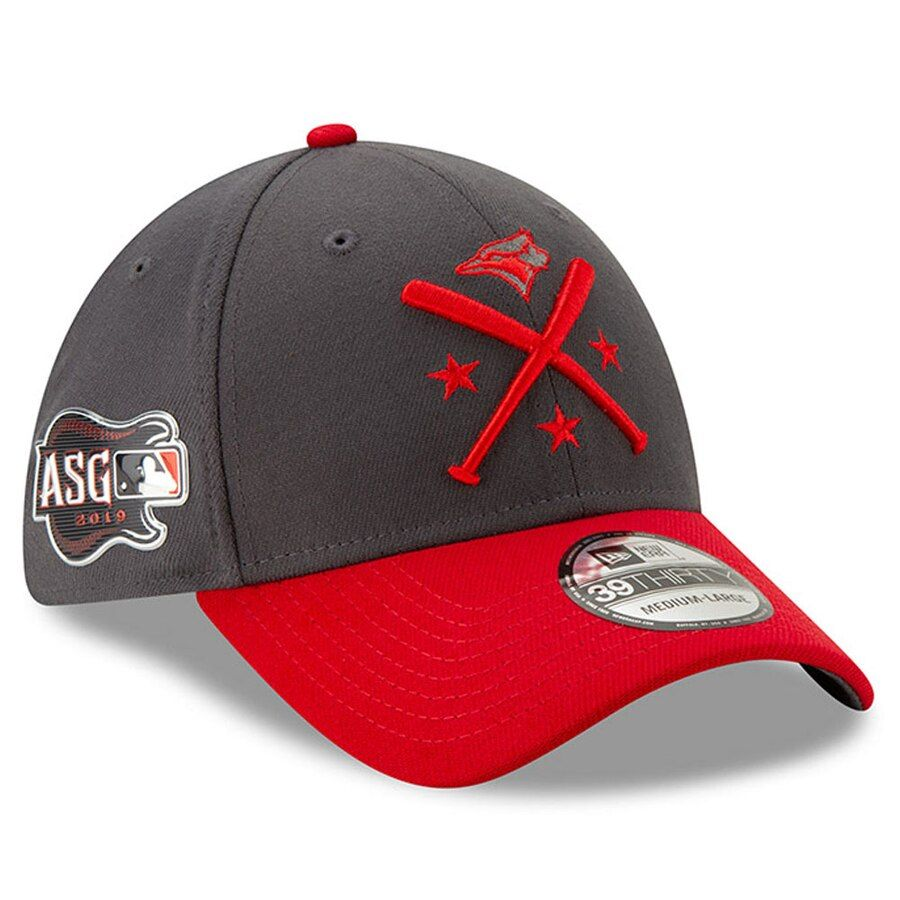 hot product wholesale dealer outlet for sale Men's Toronto Blue Jays New Era Graphite/Red 2019 MLB All-Star ...