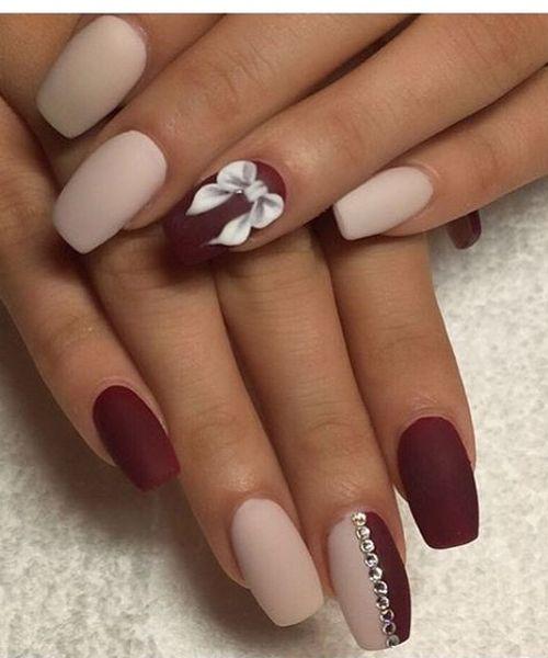 Stunning Rose Gold Prom Nail Art Designs Cute Nails Pinterest