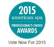 Vote for The Indigo Spa as your favorite spa for the @americanspa 2015 Professional's Choice Awards!