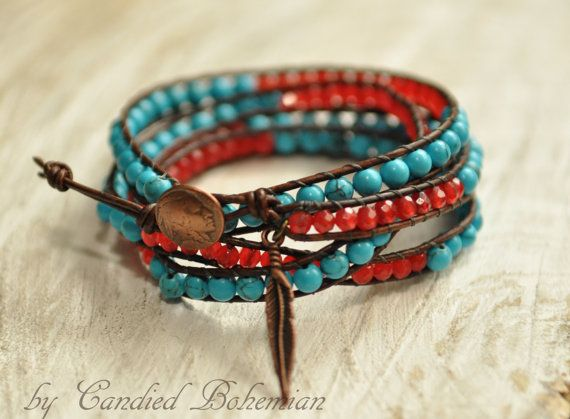 American Indian Bracelet Native American Style Natural