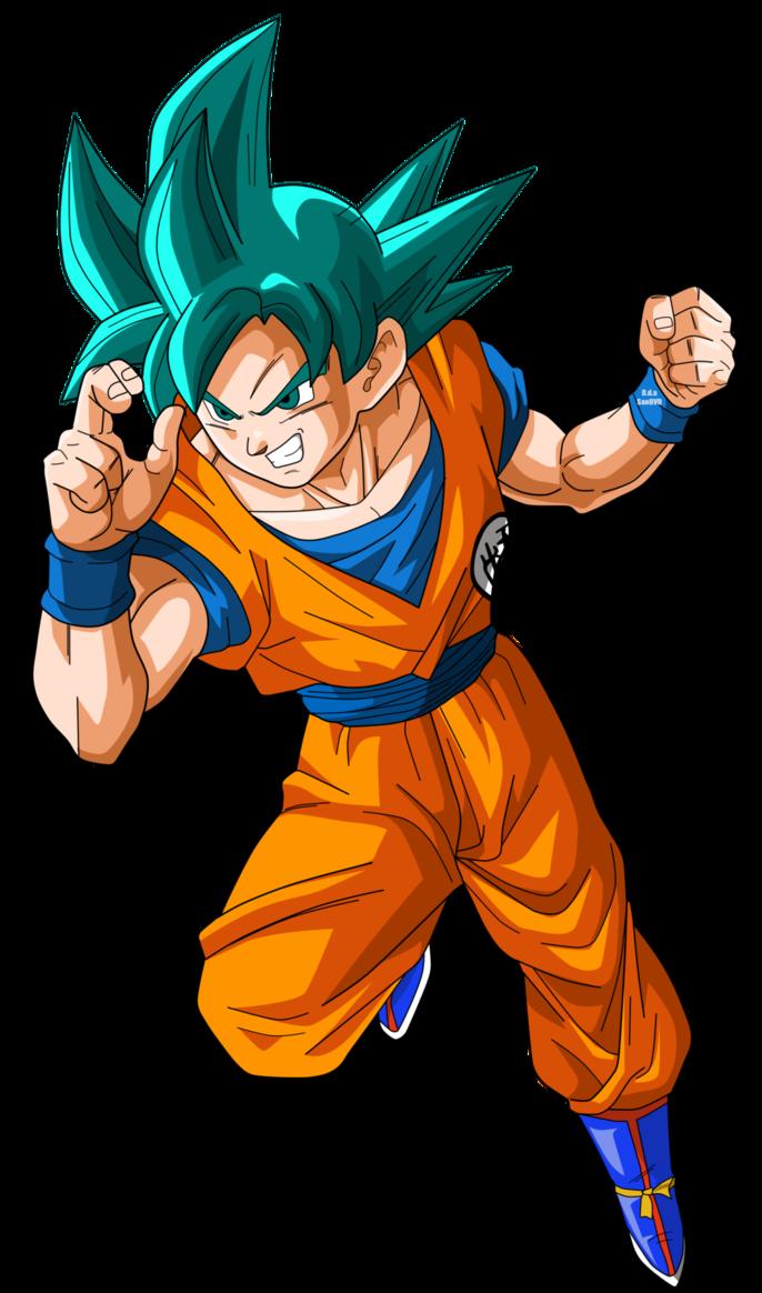 Goku Semi Ssj Blue By Narutosonic666 Dragon Ball Anime Dragon Ball Super Dragon Ball Super Manga