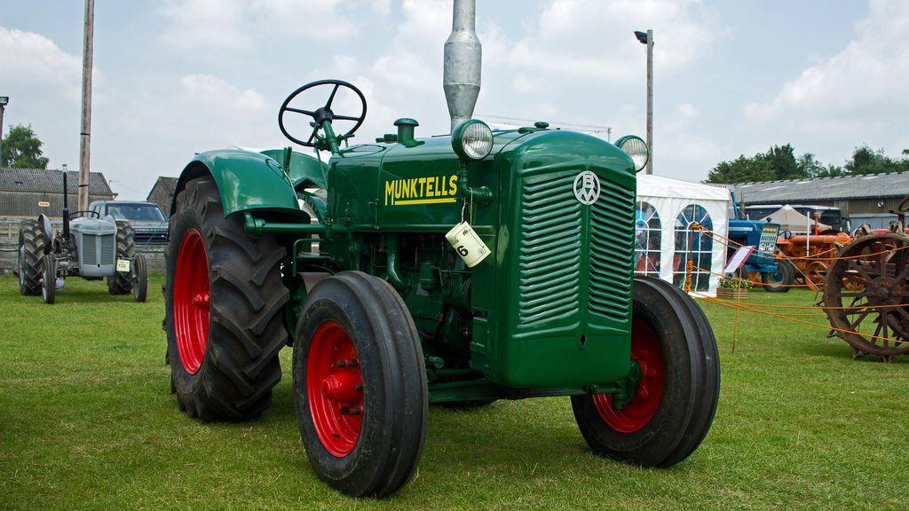 Bolinder munktell bm 20 tractors made in sweden