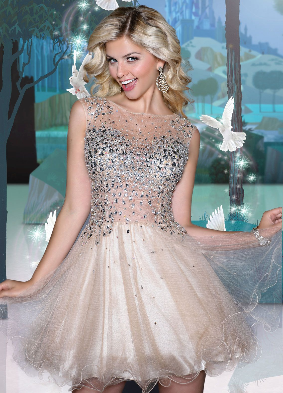 Disney Forever Enchanted Prom Dresses Enchanted Forest Theme