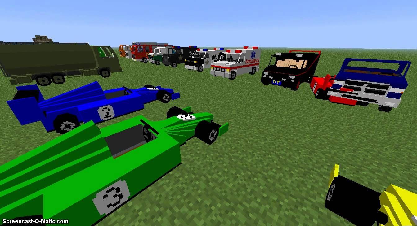 Скачати моди на майнкрафт 1.8.9 автомобили