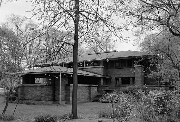 darwin d martin house buffalo new york may 1965 east side