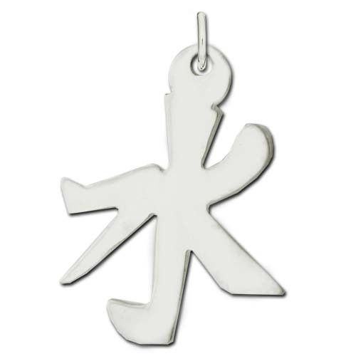 Sterling Silver Water Kanji Chinese Symbol Charm * You can get more details by clicking on the affiliate link Amazon.com.