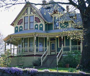 You Donu0027t See Detail Like This These Days :( Beautiful Victorian Style  Houses Not Just The Design, The Porches And The Creative Painting  Possibilities