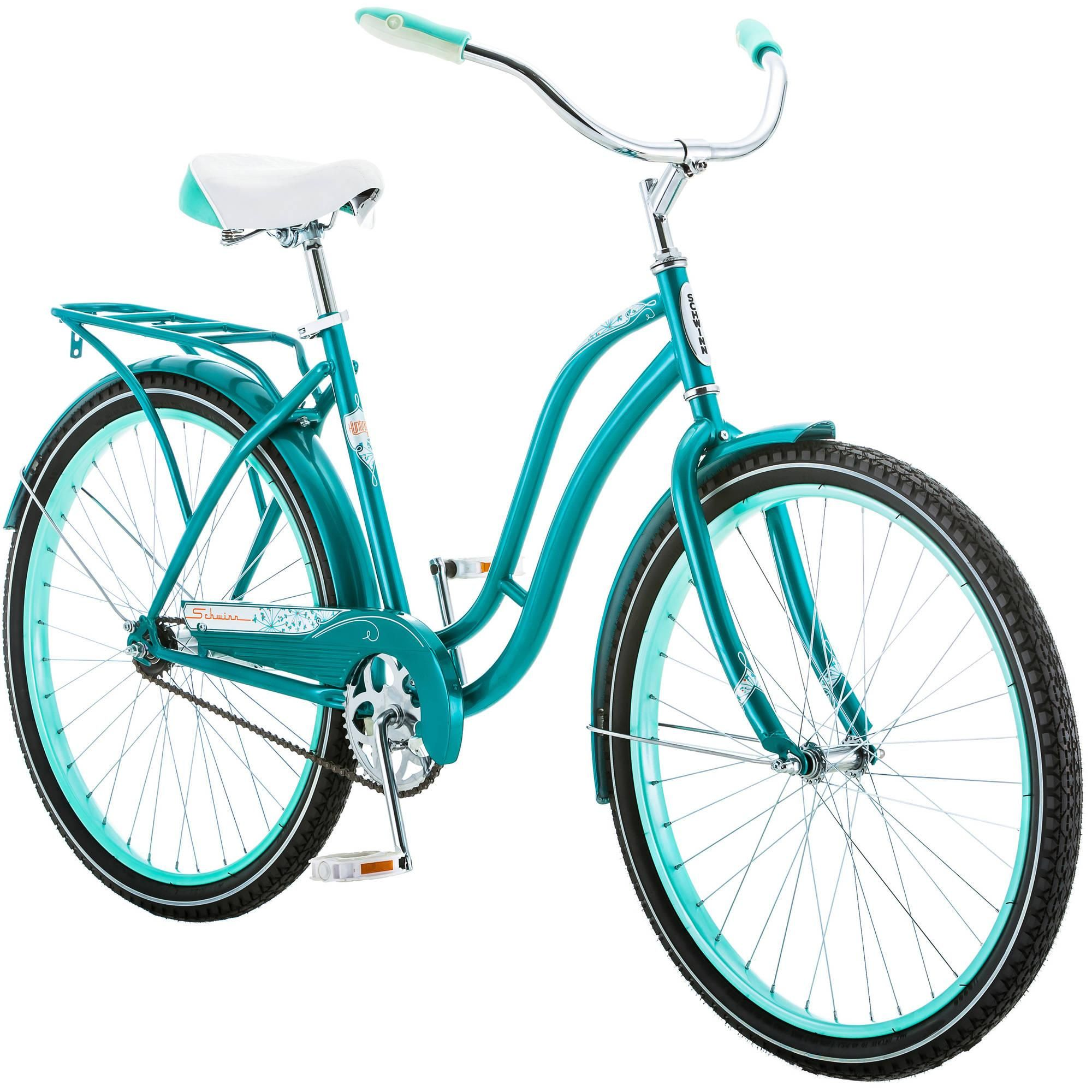 Schwinn 26 Huntington Womens Cruiser Bike Teal Walmart Com Cruiser Bike Womens Bike Bicycle