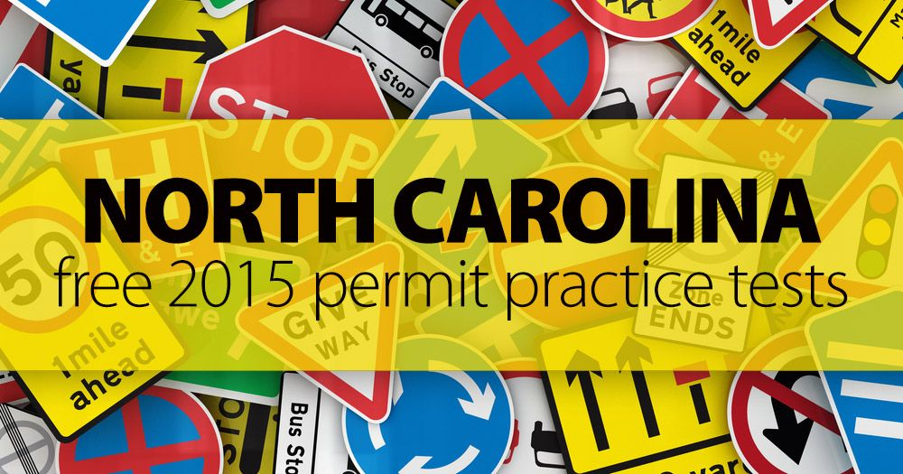 This comes in handy if you are planning on moving to North Carolina!! Good Luck ;) ✔ Free 2016 North Carolina Permit Practice Test Have you been looking for a North Carolina Permit Practice Test? Look no further! Welcome to our FREE sample N