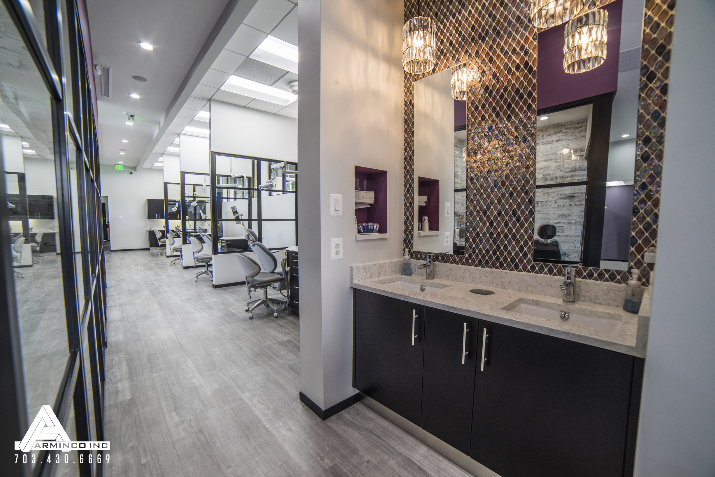 Dental Office Design by Arminco Inc. Orthodontic office