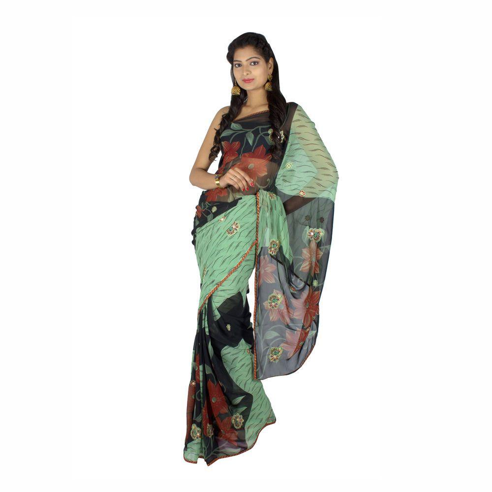 Saree for women wedding designer indian wedding bridal engagement sari bollywood heavy work