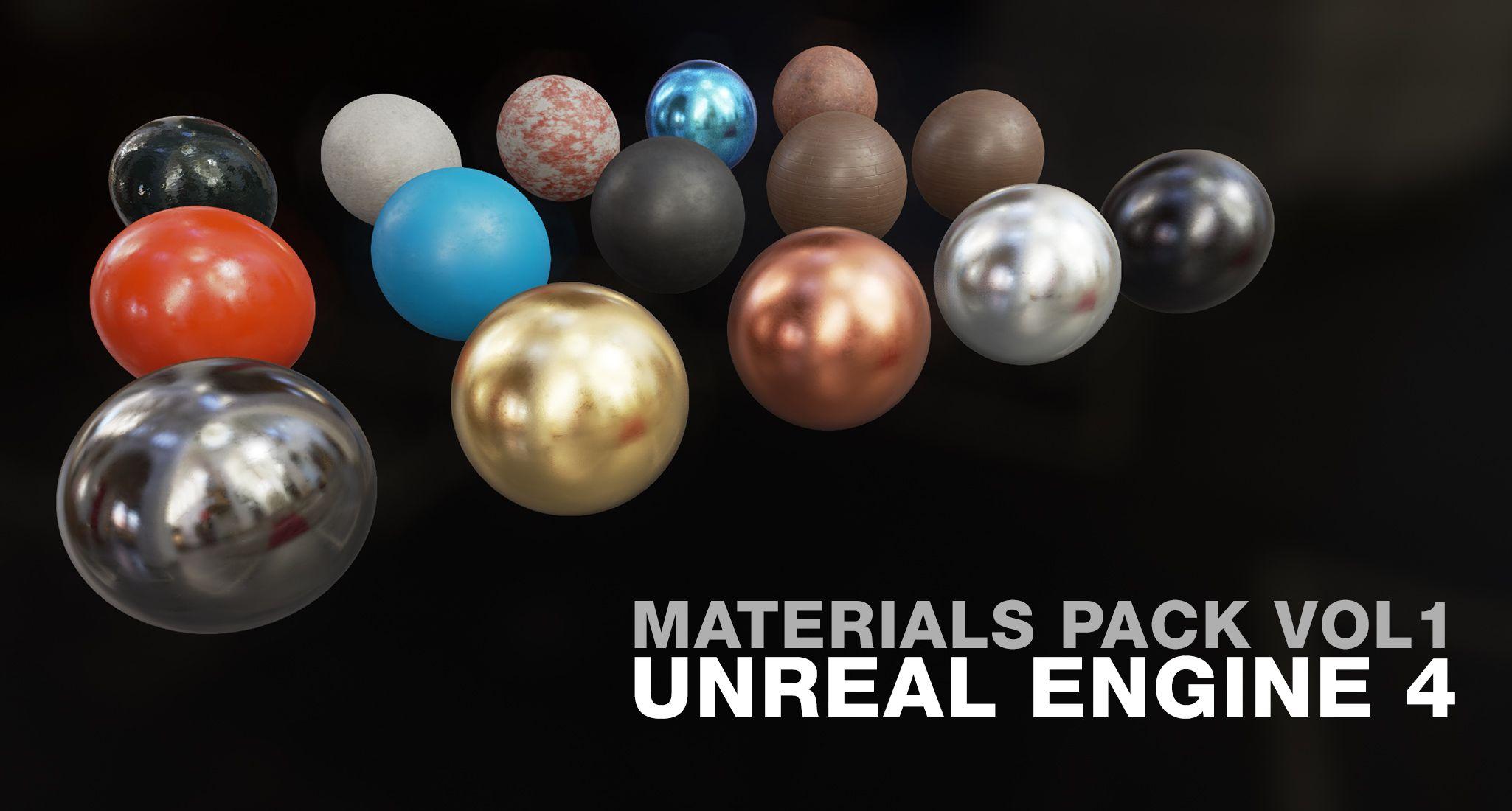 UE4 Materials Pack Vol  1 in 2019   Neat Game Development Stuff