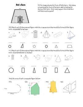 Geometry Study Guide ~ 7th Grade Math | 7th grade math ...