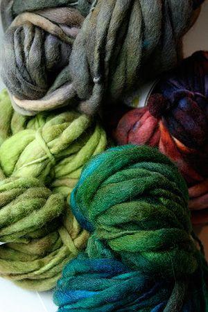 Pagewood Farm Handspun Thick and Thin Bulky Yarn 35.20