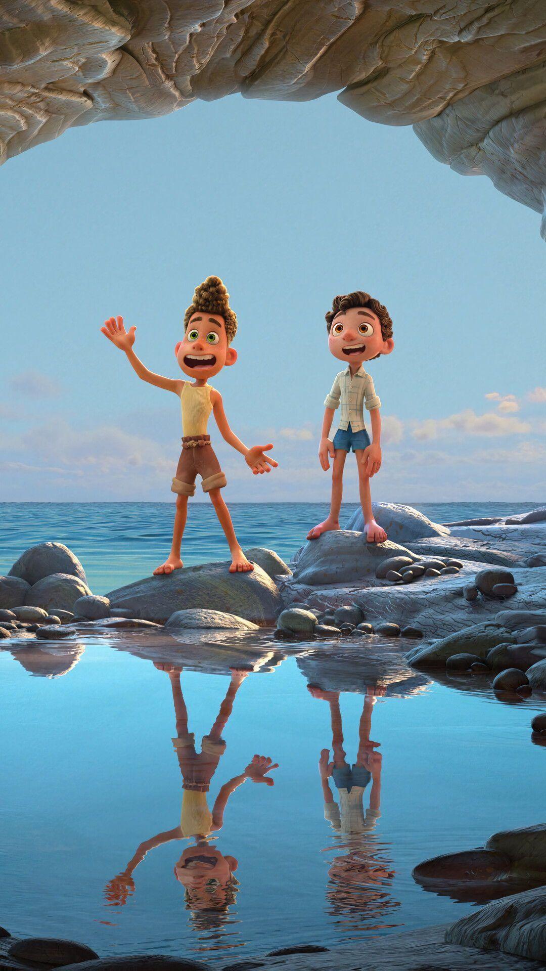 Film Review Luca Strange Harbors In 2021 Lucas Movie Disney Animated Films Disney Animation