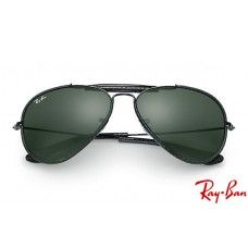 30d61e9479 Ray Ban RB3422 Aviator with Black frame and Green Classic G-15 lenses