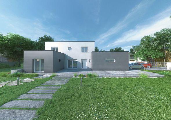 Découvrez Les Plans De Cette Une Maison Moderne Et Fonctionnelle Sur Www. Construiresamaison.com