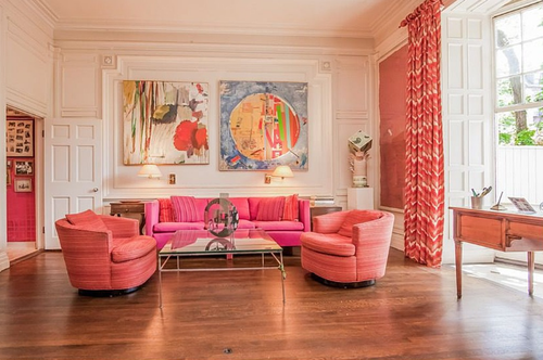 Experience A Wes Anderson Film In This Boston Townhouse With