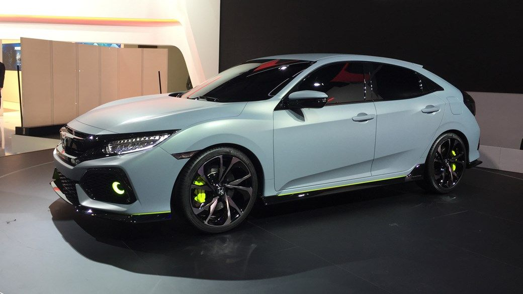 Vehicle 2017 Honda Civic Hatchback