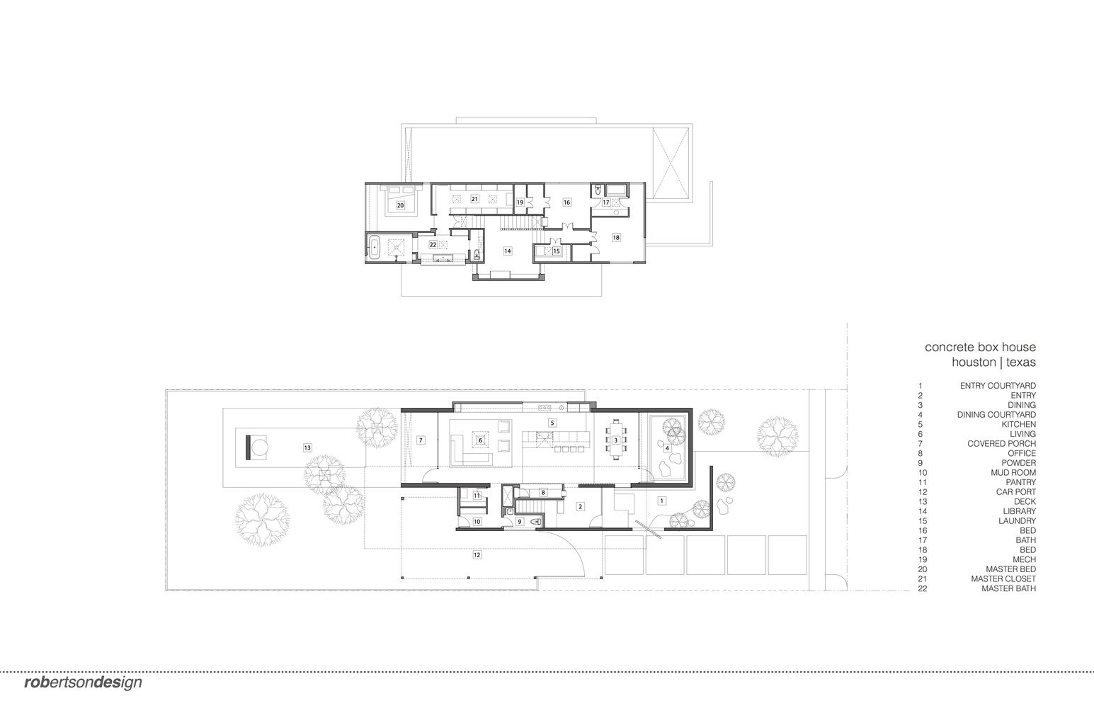 gallery of concrete box house robertson design 32 box houses concrete box house floor plan kitchen between primary living spaces