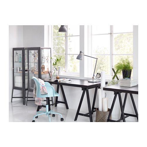 Tornliden oddvald table black brown black ikea - Ikea ufficio informazioni ...