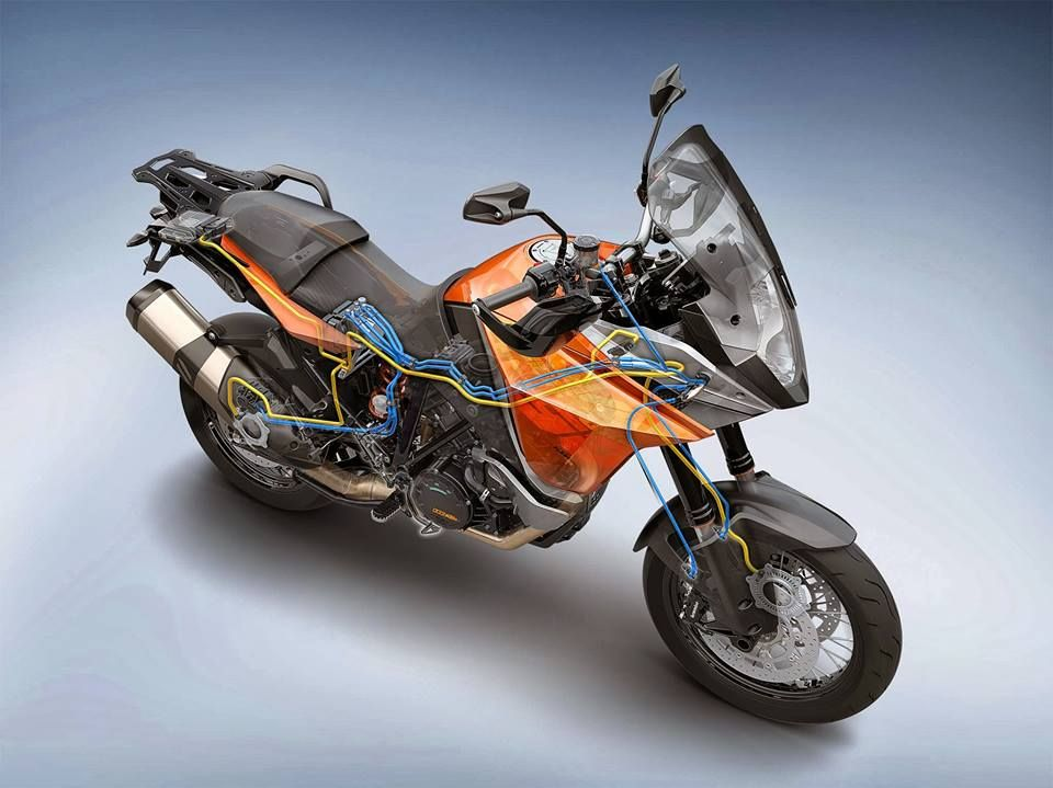 The New Ktm 1190 Adventure Bike Has The Most Advanced