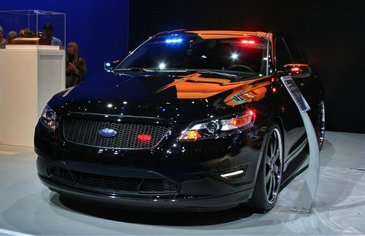 Ford S Undercover Stealth Cruiser Is One Cool Cop Car With Images