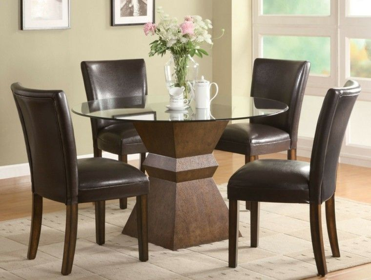 Mesas de comedor y sillas de comedor ideas excepcionales | Sillas de ...