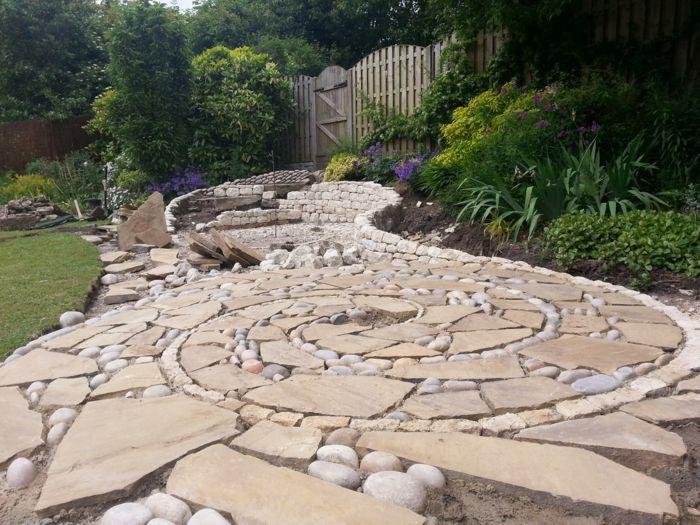 trockenmauer natursteine mauerwerk mauerer gartenalleen - garten mit natursteinen gestalten