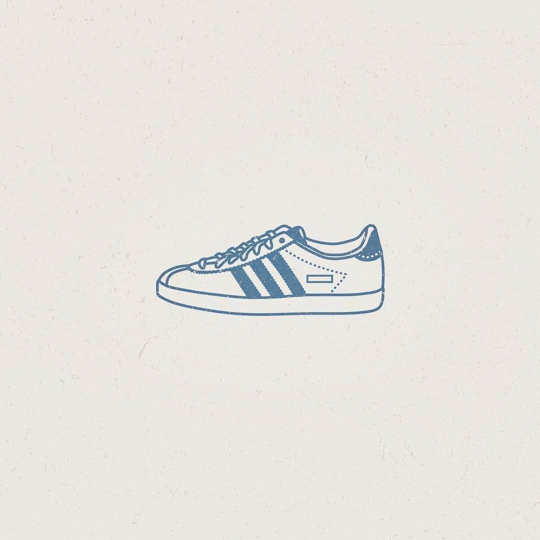 plus récent 64024 2670e Adidas Gazelle #Illustration #illustrator #logoplace #vector ...
