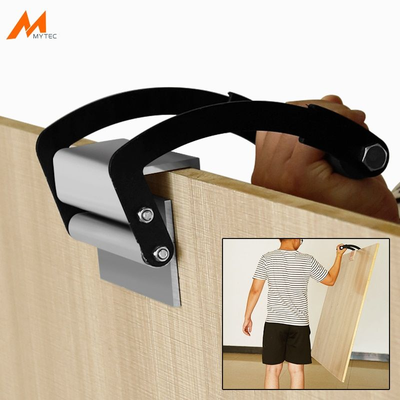 Heavy Duty Aluminium Panel Carrier 2 25mm 50kg Plywood And Sheetrock Sheet Goods Carry Handle Hand Lifter Gripper Heavy Duty Alu Paneling Plywood Sheetrock