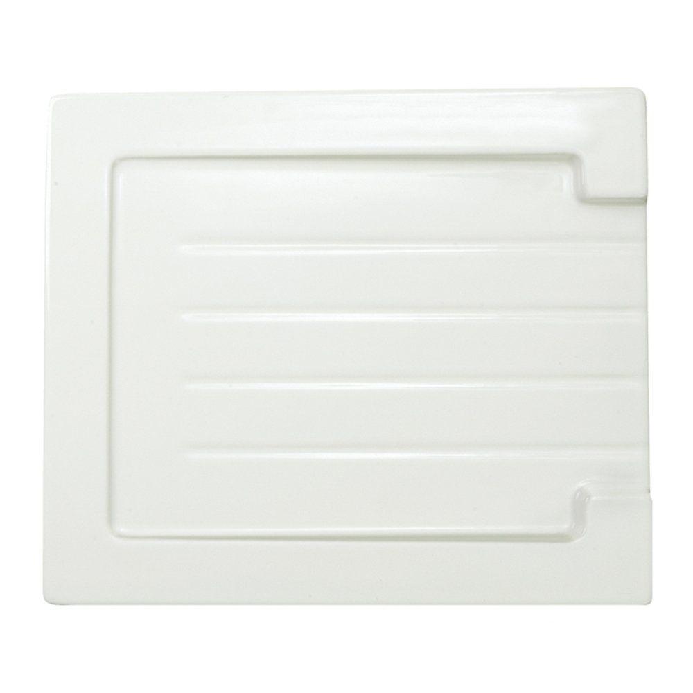 Astini Belfast Grooved White Ceramic Kitchen Sink Drainer - Astini ...