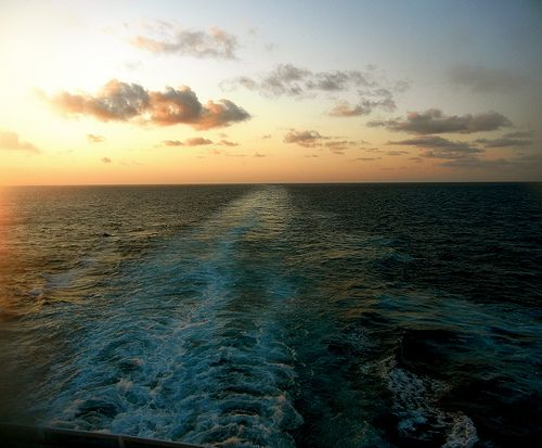 This Will Be The View Of The Sunset From Our Aft Balcony - What is aft on a cruise ship