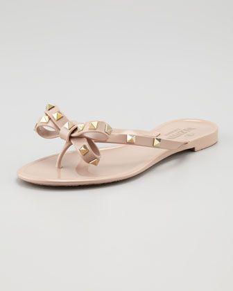 c981cbe19dc1 Rockstud PVC Thong Sandal