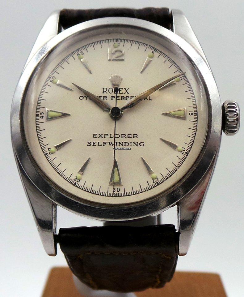 Rolex Pre-Explorer Brevet Vintage for $5,300 for sale from a Seller on Chrono24