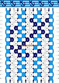 Risultati immagini per friendship bracelet pattern