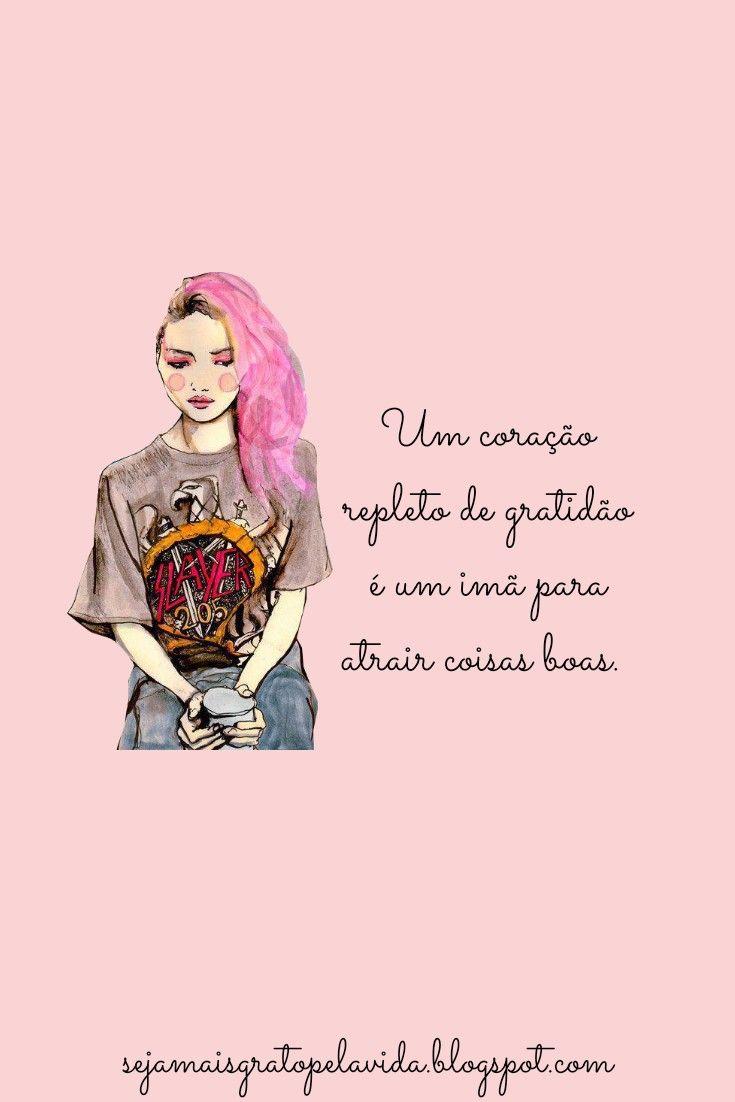 Pin de Priscila Martins em Instagram ♡ Gratidão frases