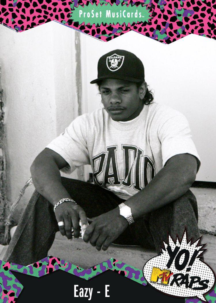 (1991) Yo! MTV Raps Trading Cards Rap, Best hip hop