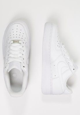 Nike Sportswear AIR FORCE 1 '07 - Matalavartiset tennarit - white - Zalando.fi