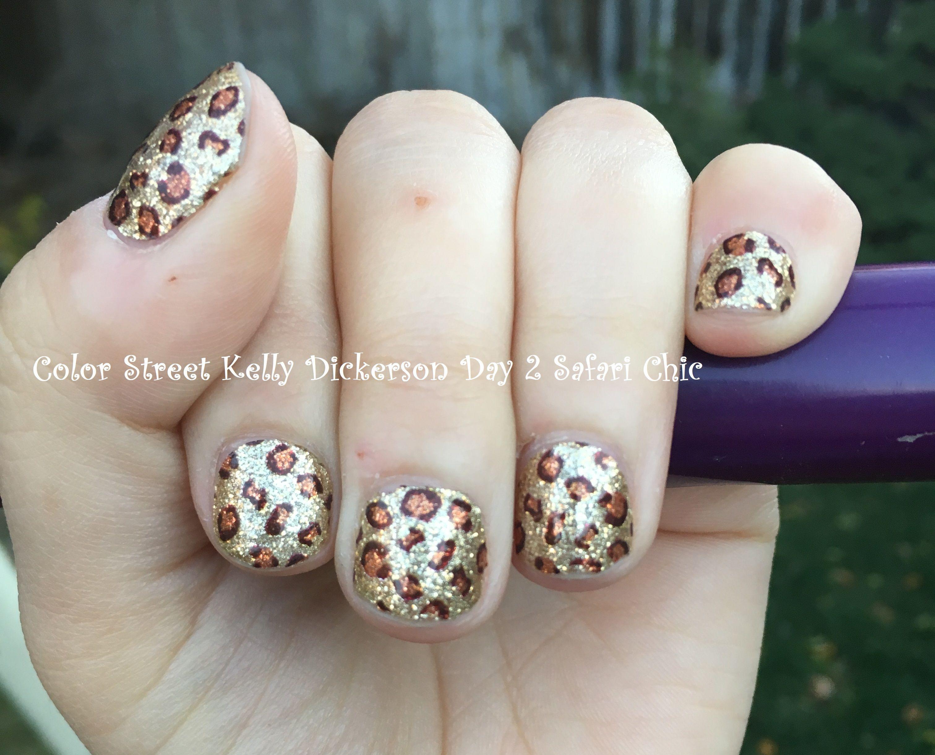 Color Street Safari Chic Nail Polish Strips. Color Street nails. 100 ...