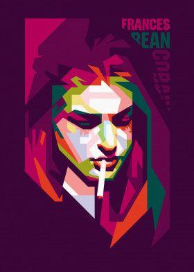 "Frances Bean Cobain #Vector explore Pinterest""> #Vector #Design explore Pinterest""> #Design #Poster explore Pinterest"">… | Displate thumbnail"